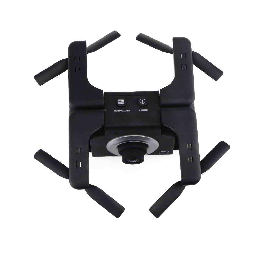 F6 WIFI FPV Foldable Selfie Drone With 2MP Wide Angle Camera RC Quadcopter