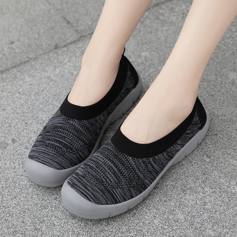 Women Casual Mesh Woven Breathable Sneakers