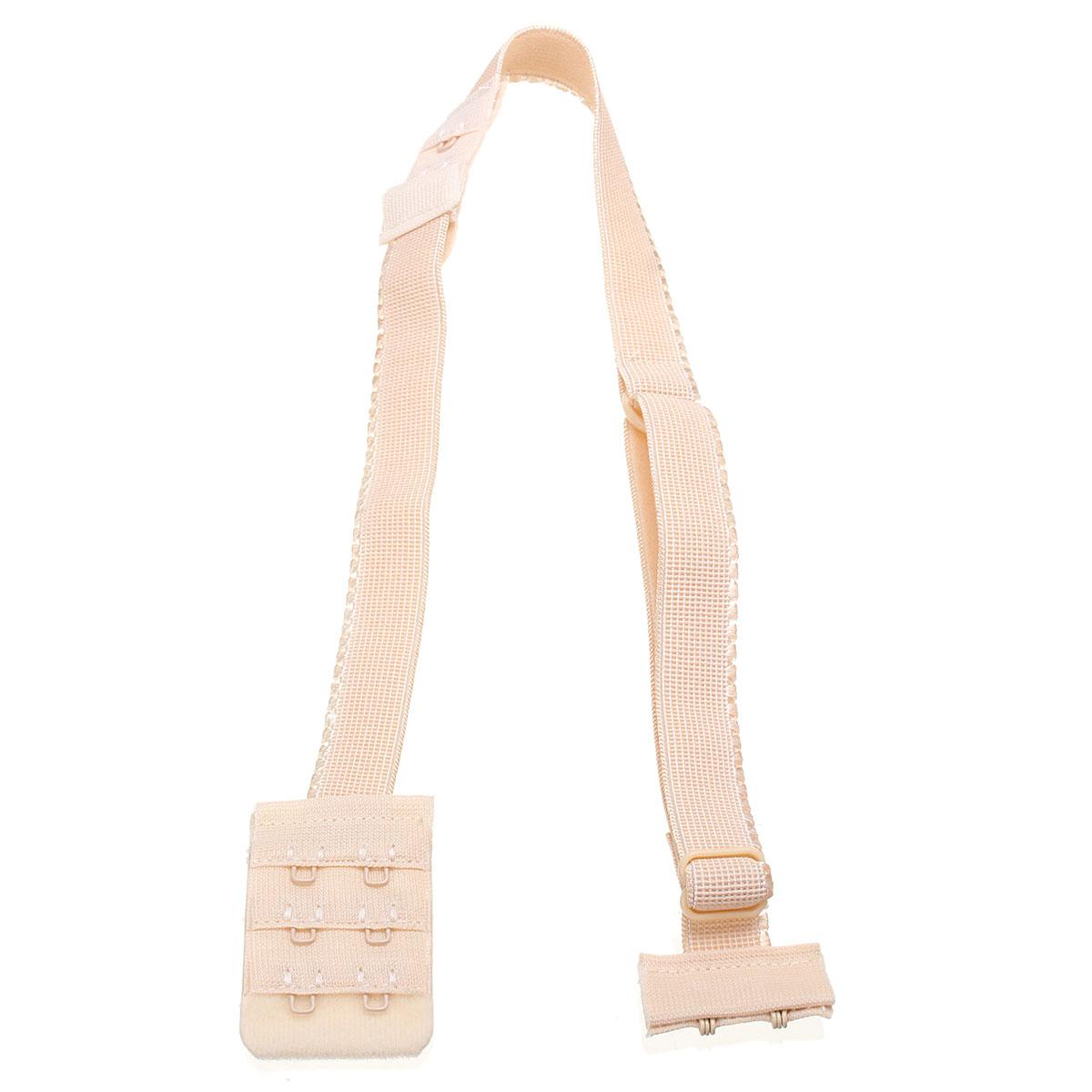 Women Hooks Low Back Bra Strap Backless Converter Fully Adjustable Bra Extender