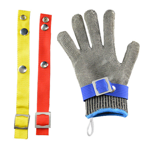 Stainless Steel Wire Safety Golves Cut Proof Stab Resistant Metal Mesh Glove Grade 5