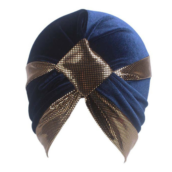 Women Chemo Cap Soft Flannel Beanie Sleep Turban Hat