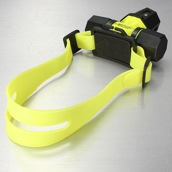 1800LM T6 2Modes Under Water Swimming LED Headlamp +18650