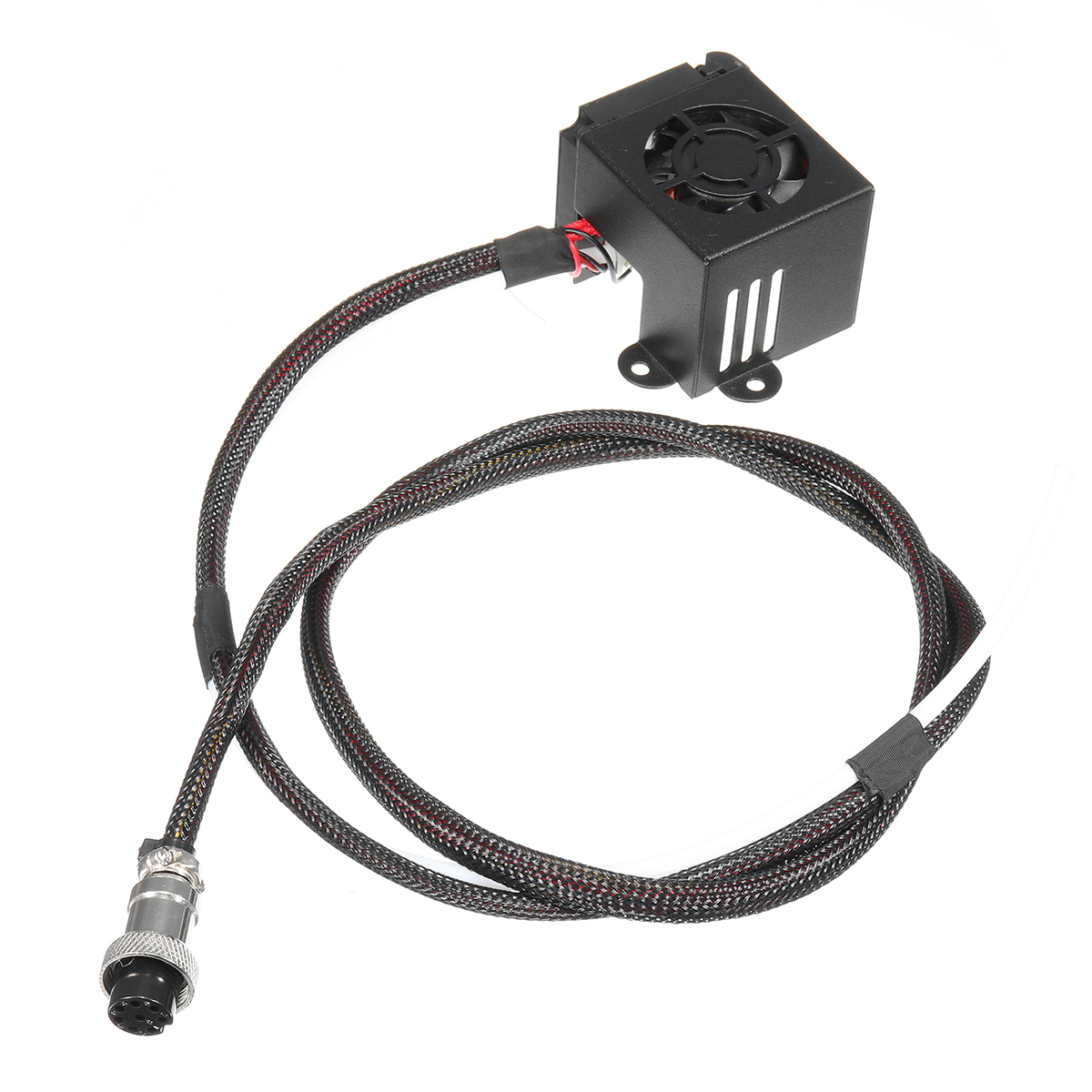 3D Printer Parts 0.4mm Nozzle Hot End Extruder Kits With Cooling Fan For Creality CR-10