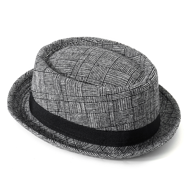 Men Women Vintage Plaid Flat Hats Casual Gentleman Hat