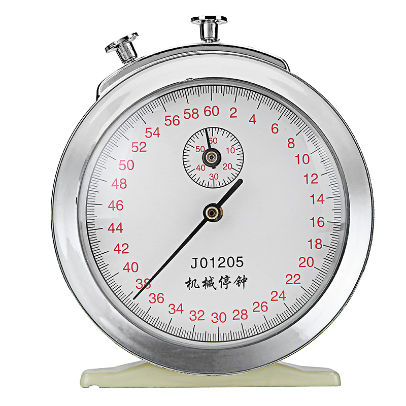 Mechanical Windup Stopwatch Clock 60s 0.2s 60min Game T
