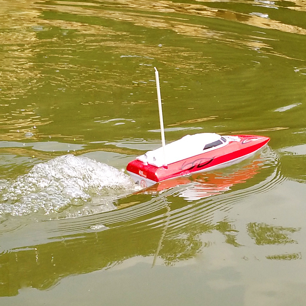 Flytec 2011-15A 24CM 40HZ Water Cooled Motor RC Boat Wireless Racing Fast Ship - Photo: 9