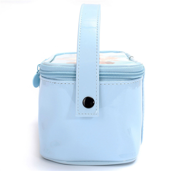 Cute Cosmetic Bag Ladies Cartoon Doll Travel Makeup Portable Storage Handbag Lovely