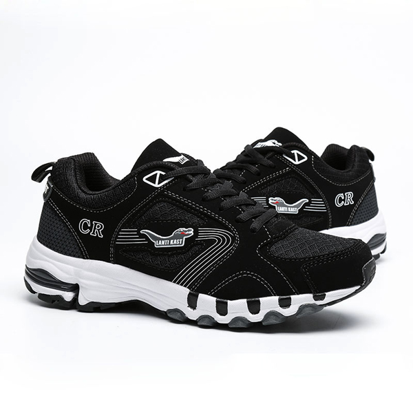 US Size 6.5-10.5 Men Outdoor Running Shoes Mesh Lace Up Flats Casual Comfortable Sport Shoes