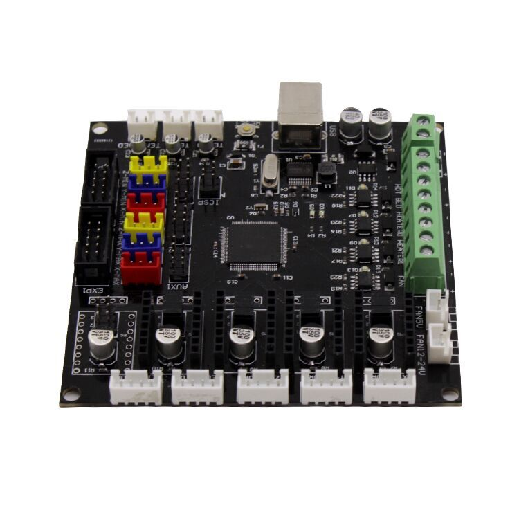 BIQU KFB2.0 Controller Board Motherboard With USB Cable For 3D Printer Reprap Mendel Kossel