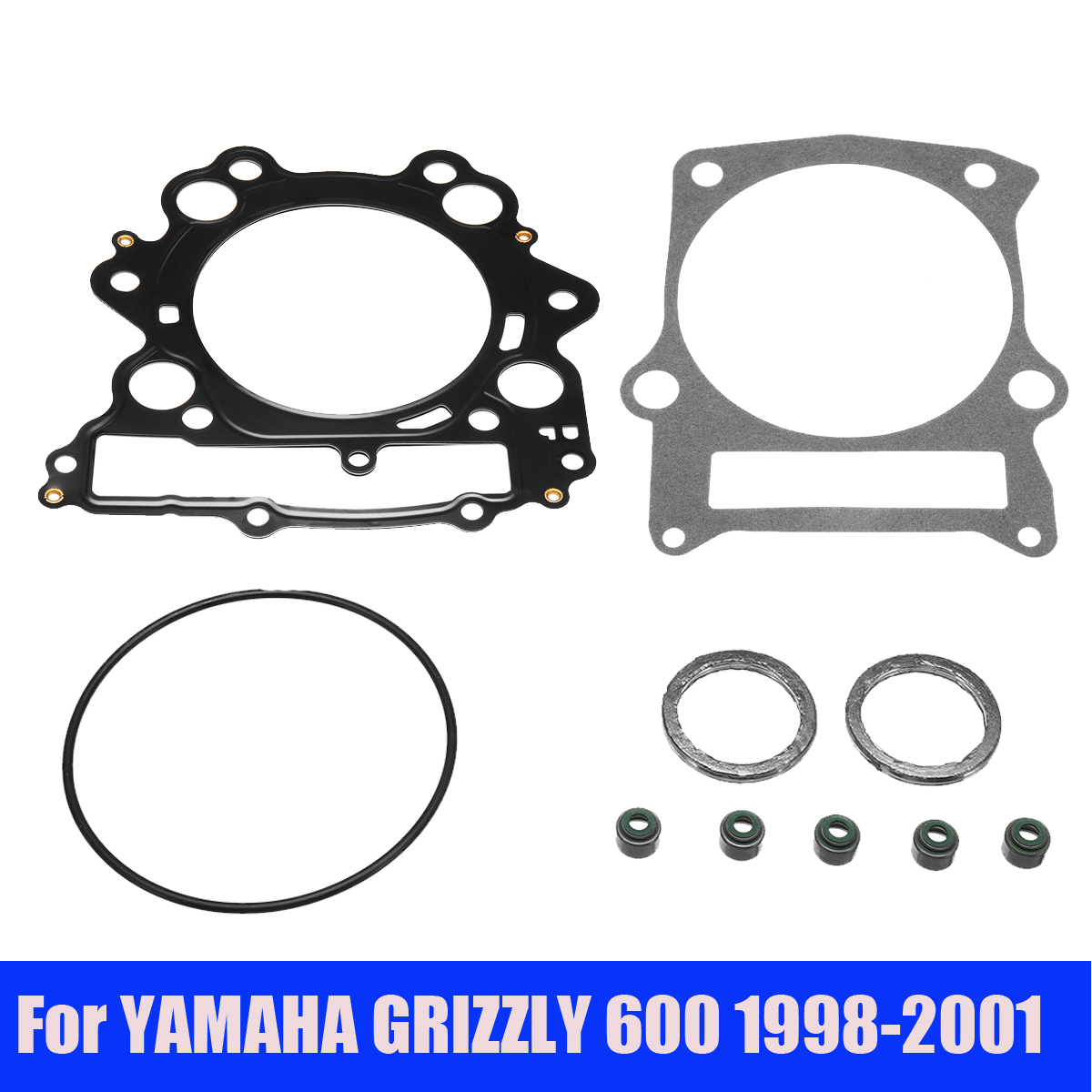 Top End Gasket Kit for Yamaha GRIZZLY 600 4x4 1998-2001