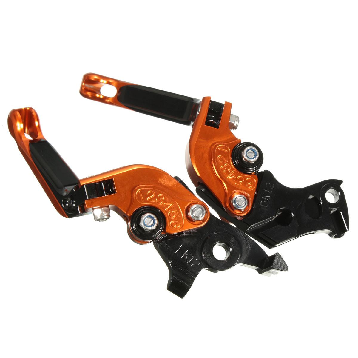 CNC Adjustable Brake Clutch Levers For KTM DUKE 125 DUKE 200 DUKE 390
