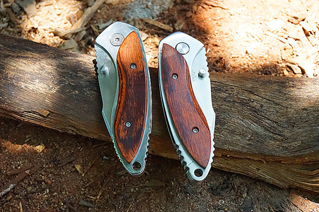 271 163mm 12C27M Steel Tactical Folding Knife Outdoor Survival Hunting Knives Fishing Line Tyer