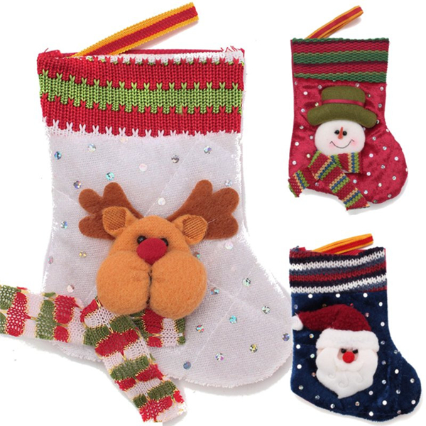 Christmas Decorations Socks Mas Candy Gift Bags Stockings