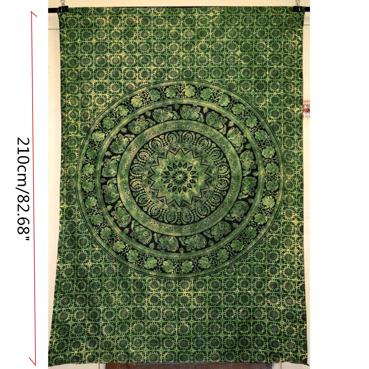 Indian Decor Mandala Tapestry Wall Hanging Throw Twin Bohemian-Bedspread Beach Towel