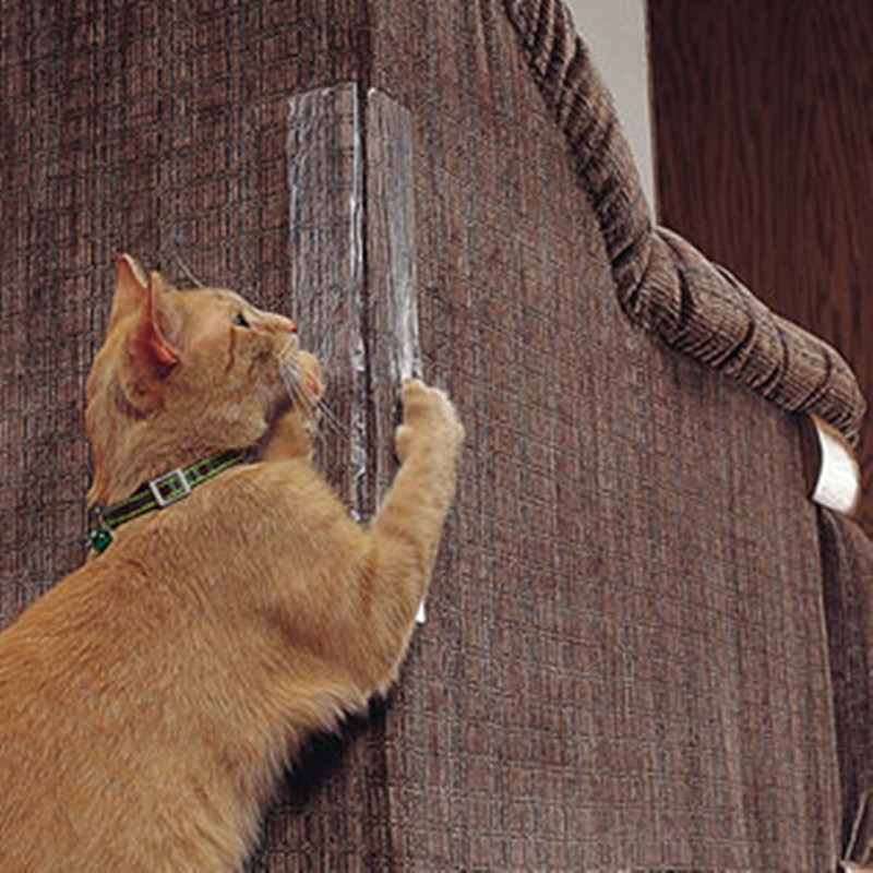 2 Pcs Pet Cat Scratch Guard Mat Furniture Protector Cat Scratching Post Sofa Pad