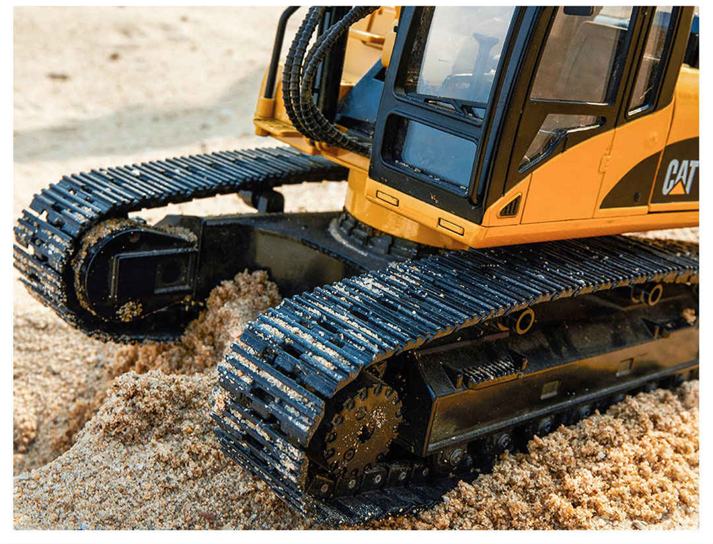 330DL from Xiaomi Youpin for CAT 1/20 2.4G RC Excavator Alloy Construction Truck Vehicles RTR Model - Photo: 6