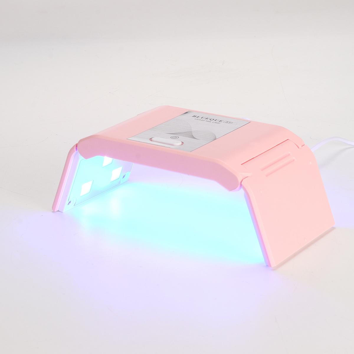 36W USB Mini Nail Dryer 12 LED UV Gel Curing Polishing Lamp