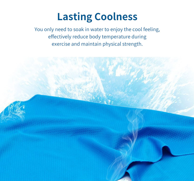 KCASA Cooling Quick Drying Towel Outdoor Cooling Towel Fabric Quick-Drying Sports Towel