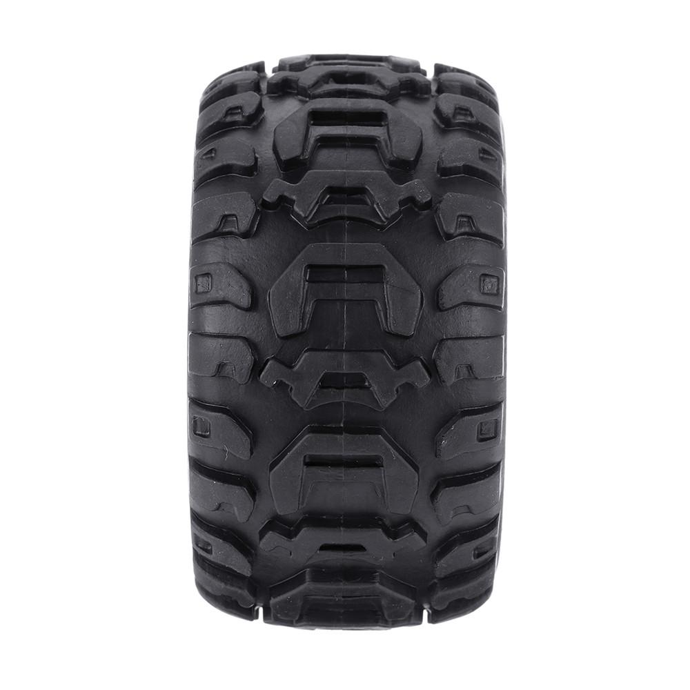2PCS Tires & Wheels Rims for HBX 16889 1/16 RC Car Vehicles Spare Parts M16038 - Photo: 5