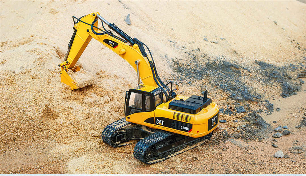 330DL from Xiaomi Youpin for CAT 1/20 2.4G RC Excavator Alloy Construction Truck Vehicles RTR Model - Photo: 4
