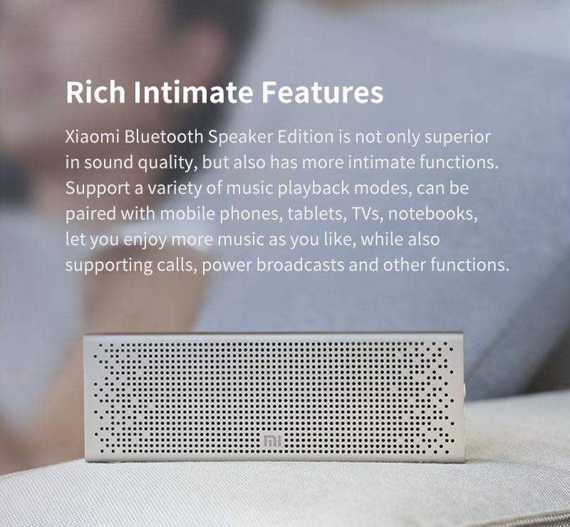 Xiaomi Bluetooth 5.0 Speaker Mini Wireless Metal Stereo Portable Hands-free Little Love Version