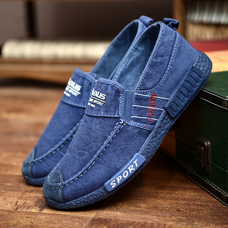 Canvas Lightweight Soft Soles Casual Walking Loafers