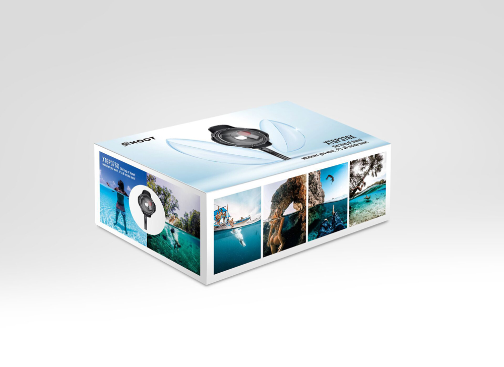 Shoot 40m Diving Dome Action Camera Waterproof Case Dome Port Fish Eyes Lens for Gopro Hero 7 5 6 4 FPV Action Camera - Photo: 12