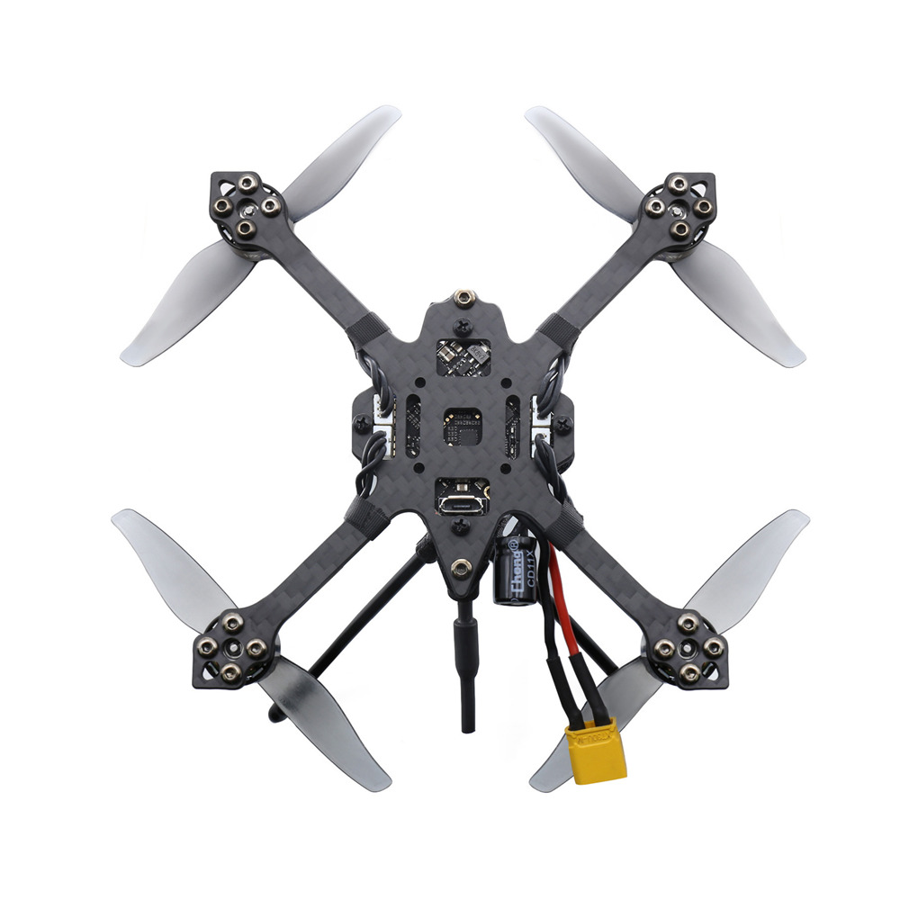 Geprc SKIP HD 3 118mm F4 3-4S 3 Inch Toothpick FPV Racing Drone BNF w/ Caddx Baby Turtle V2 1080P Camera - Photo: 7