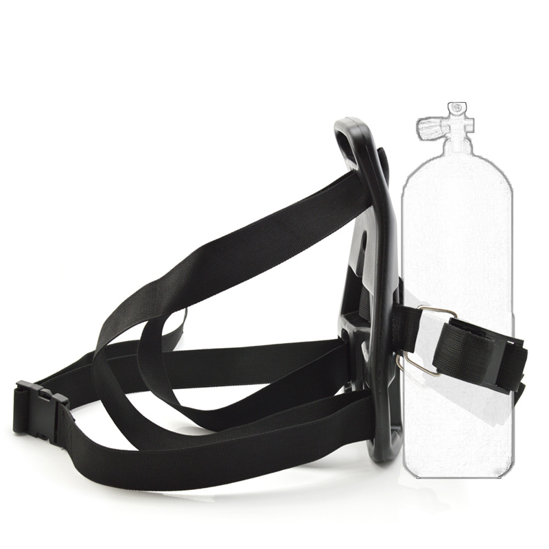 Swimming Oxygen Cylinder Tank Back Holder Scuba Backpack