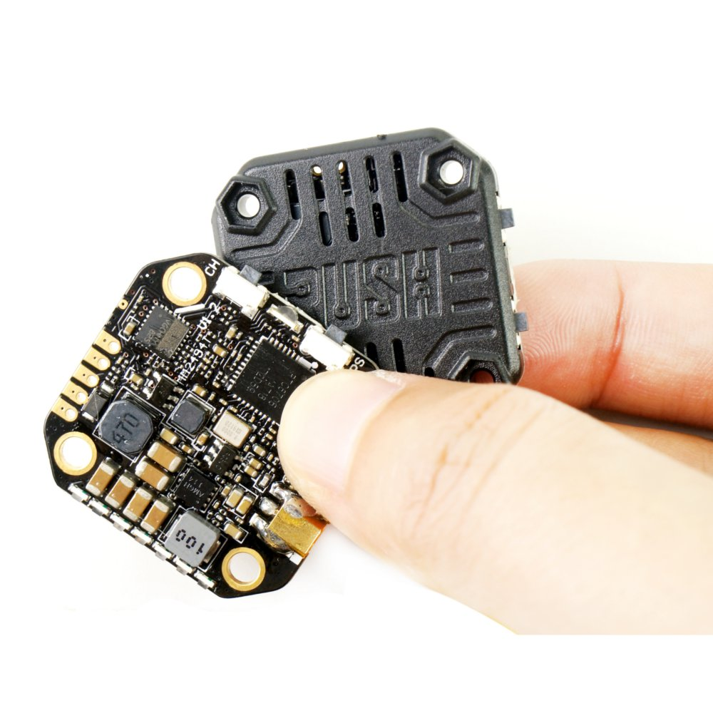 RUSH TANK MINI 5.8GHz 48CH RaceBand 0/25/200/500/800mW Switchable 20*20 Stackable FPV Transmitter VTX For RC Drone - Photo: 9