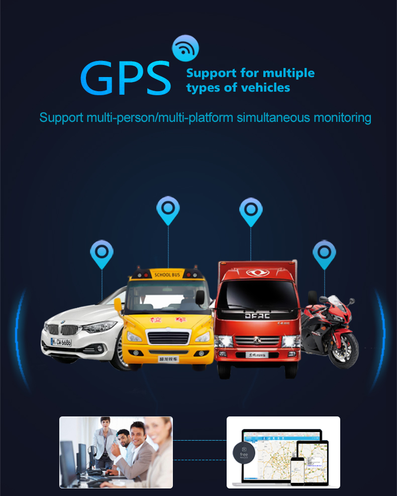 CJ720 Global Version Relay GPS Tracker GSM Locator Anti-theft Cut off Fuel Power System Function