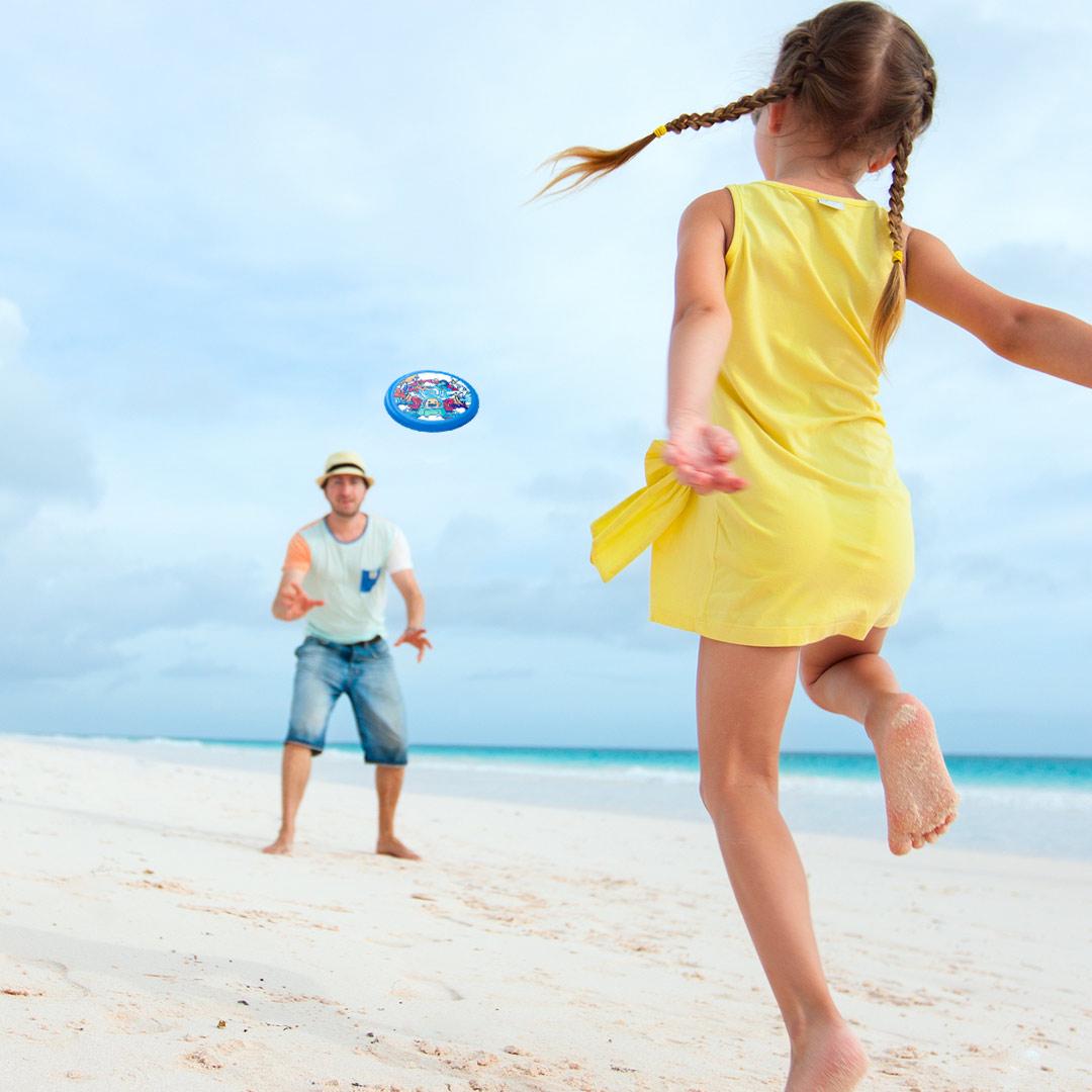 YEUX Outdoor Sports Soft Flying Disk Outdoor Indoor Familienspiel Camping Wandern Fitness Spiel von Xiaomi Youpin