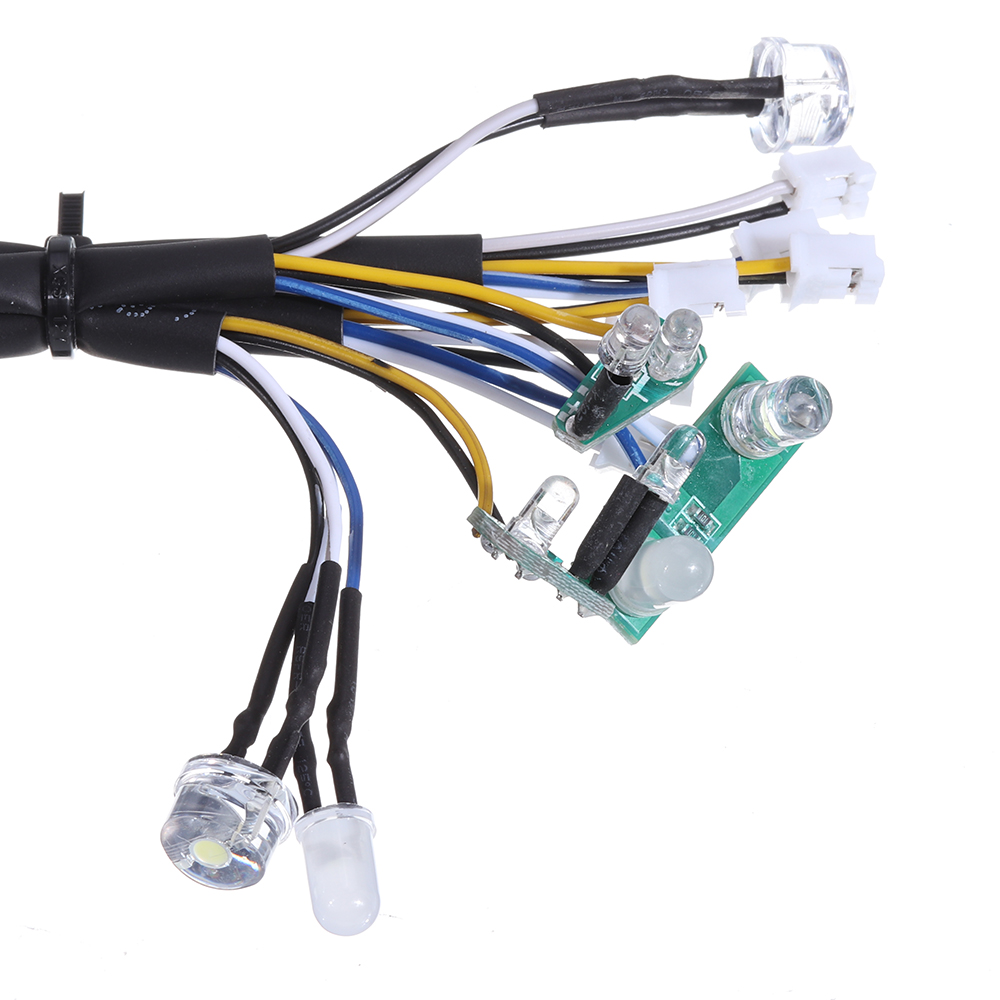 HG P408 1/10 Controllable IC Mainboard with LED Light Set RC Car Spare Parts HG-RX1018 - Photo: 2