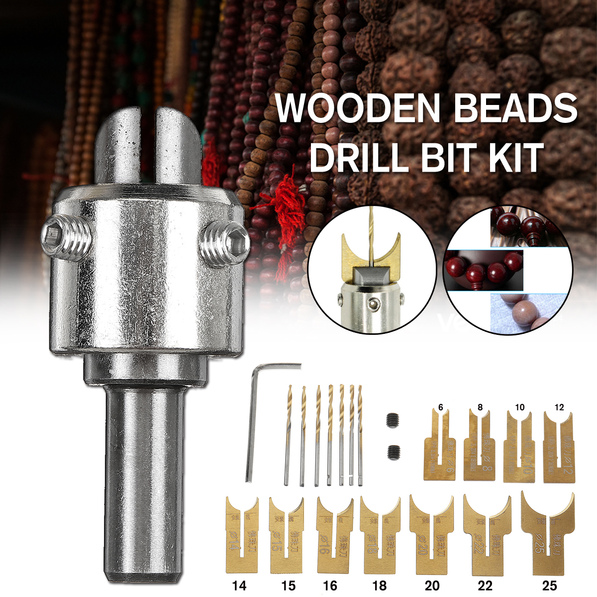 15% OFF for Wooden Bead Maker Beads Dril