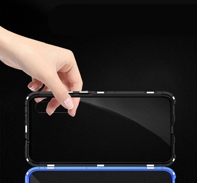 Bakeey 360º Front+Back Double-sided Full Body 9H Tempered Glass Metal Magnetic Adsorption Flip Protective Case For Xiaomi Mi A3 / Xiaomi Mi CC9E