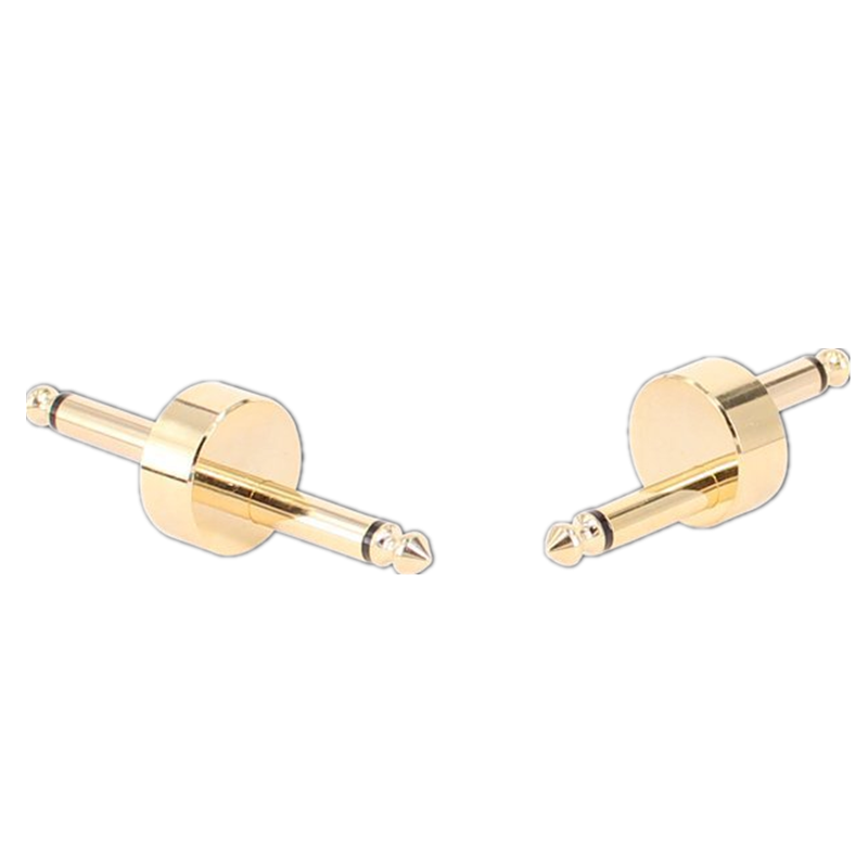 Copper-plated Mono 6.5 Audio Cable 6.35 Male to Male Amplifier Audio Guitar Mixer Adapter - Photo: 2