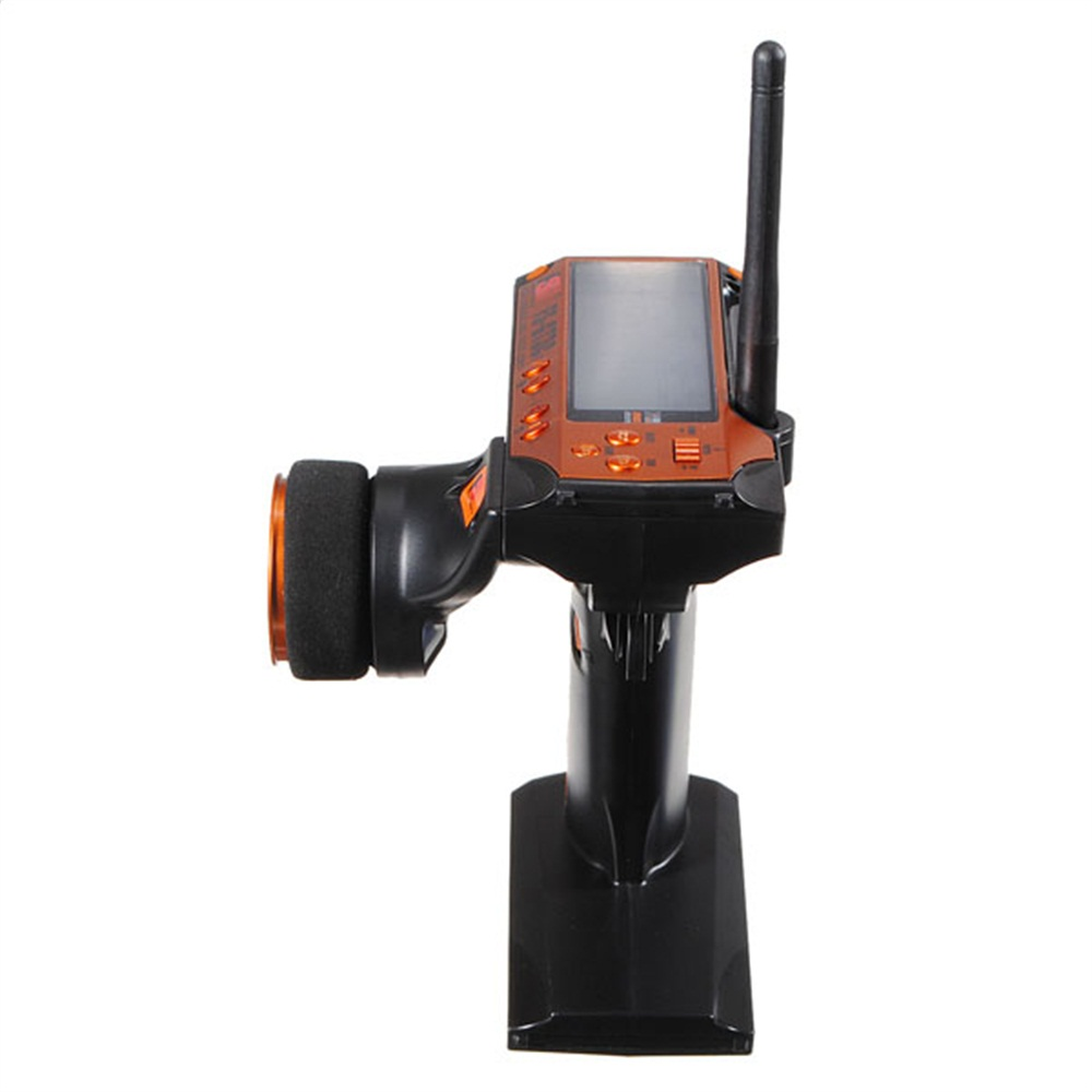 FlySky GT3C 2.4Ghz 3CH AFHDS LCD Screen PPM Output Transmitter with FS-GR3E 3CH Receiver for RC Boat Car