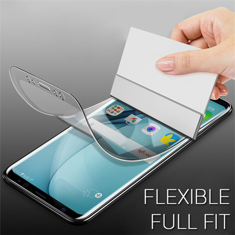 Bakeey 3D Curved Edge Hydrogel Fingerprint Resistant Screen Protector For Samsung Galaxy S8