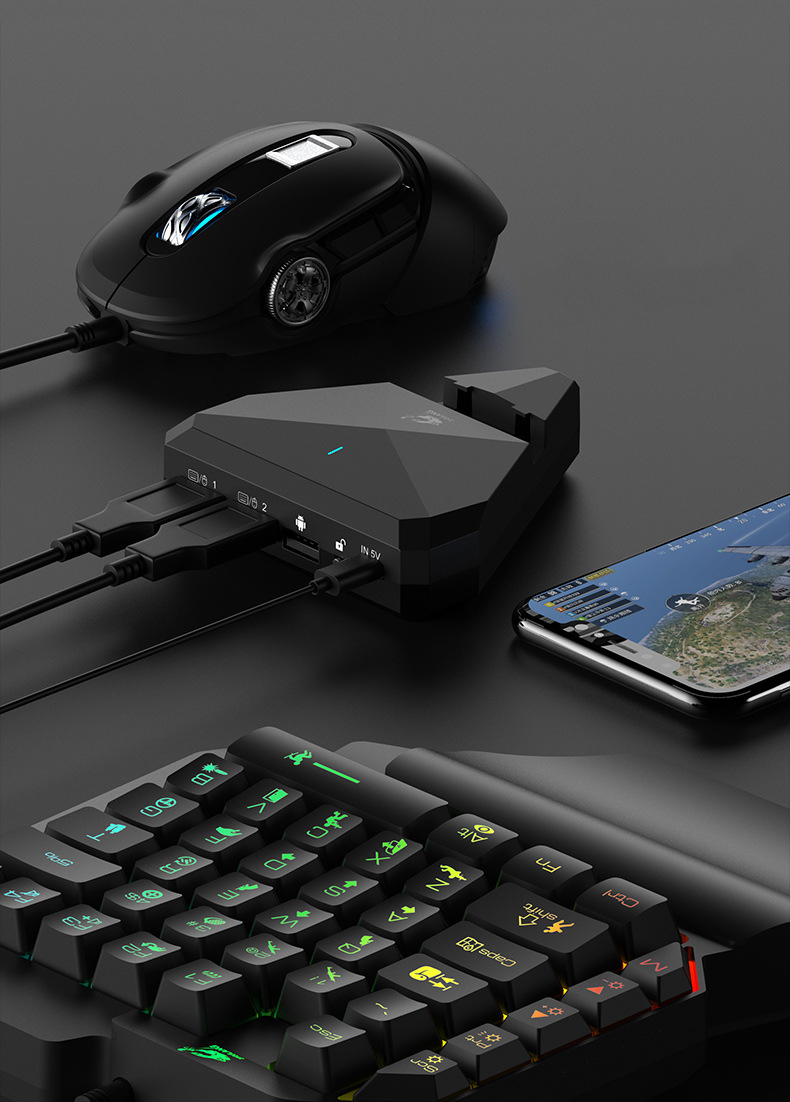 Bakeey Bluetooth 4.0 Gaming Wired Wireless Smart Connection With Triangle Bracket Charging Gamepad For iPhone X XS HUAWEI P30 Mate20 Pro Oneplus 7 XIAOMI MI9 S10 S10+