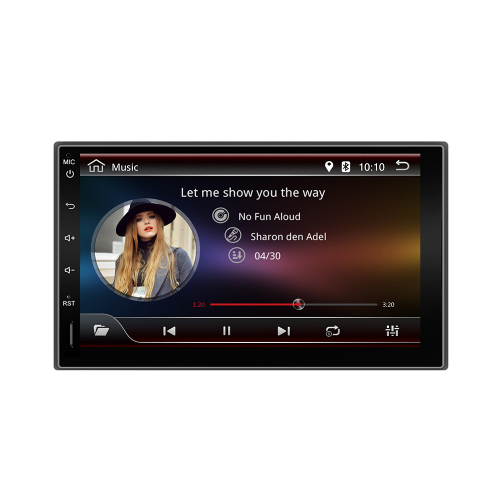 YUEHOO 10.1 Inch 2 DIN for Android 9.0 Car Stereo 8 Core 4+32G MP5 Player 4G WIFI bluetooth FM AM RDS Radio GPS