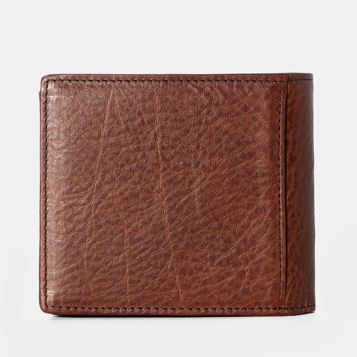 Men Genuine Leather Reto Wallet Card Holder