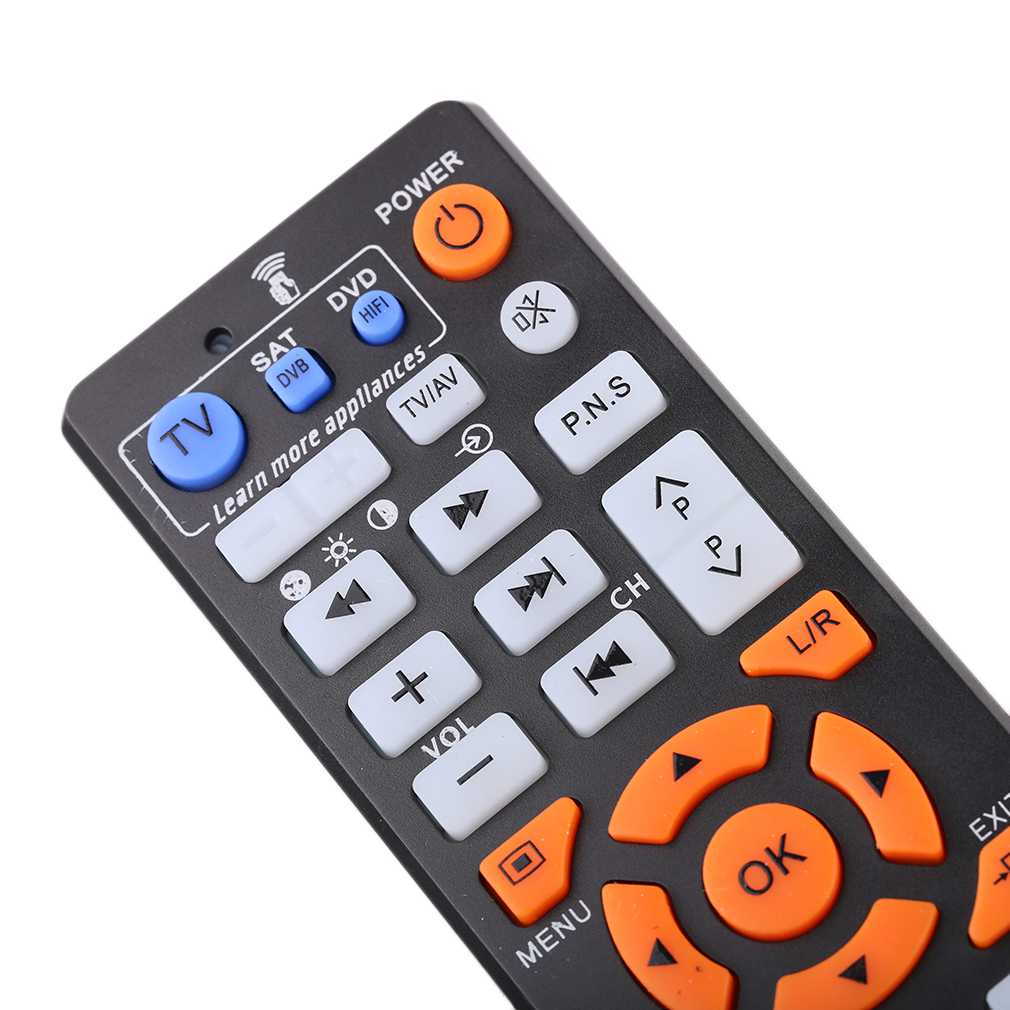 New L336 Copy Smart Remote Control Controller With Learn Function For TV CBL DVD SAT Learning