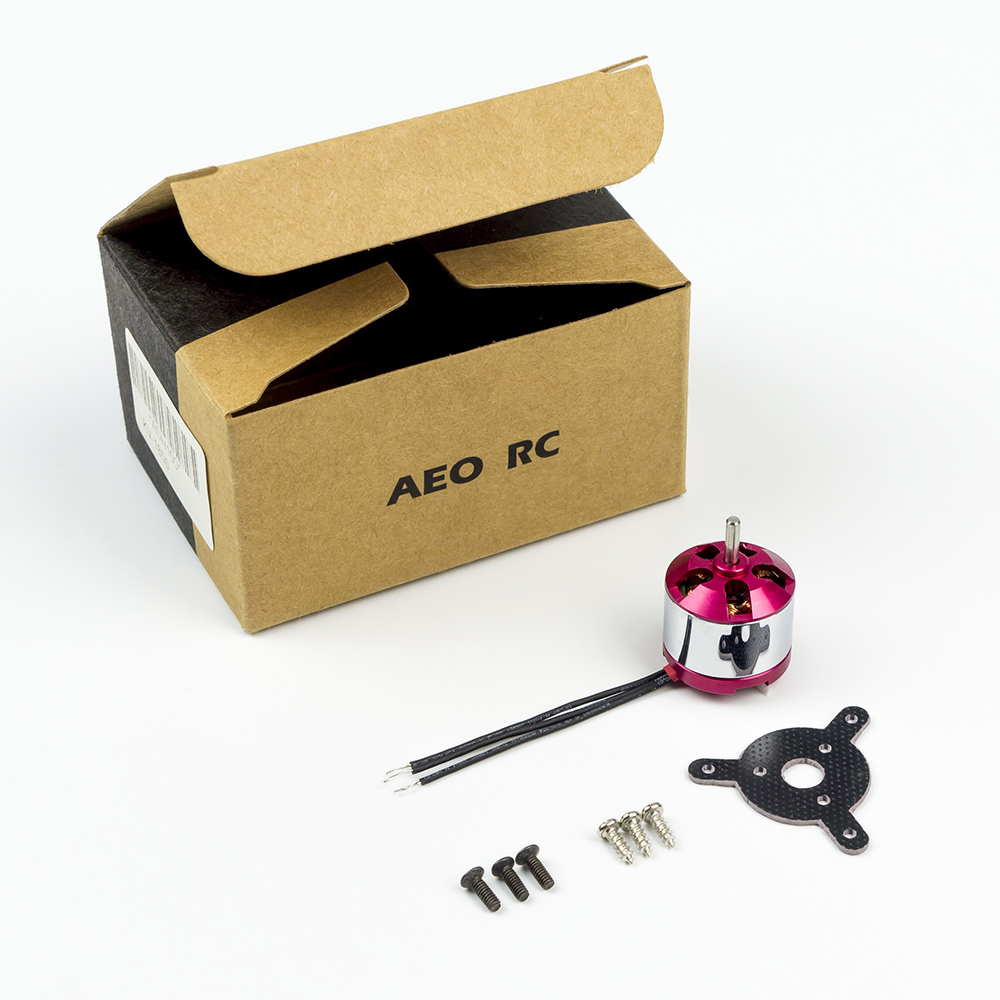 AEORC MM1408 1850kv ADH100 + 10A ESC + 2.0 Prop Saver + 6030 Prop + 2.0mm Banana plug 1408 kv1850 Brushless Motor Power Combo for RC Airplane Plane Fixed Wing - Photo: 6