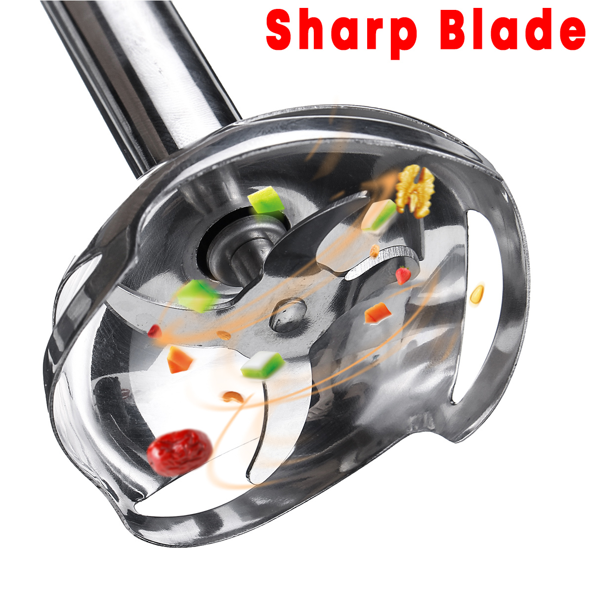 Sokany 3IN1 1000W Electric Stick Hand Blender Mixer Baby Food Processor Set Chopper Juicer