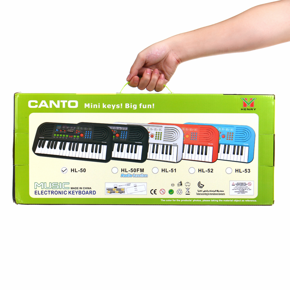 37 Keys Digital Electronic Keyboard Piano with Microphone Musical Instrument Toy for Children Music Enlightenment - Photo: 12