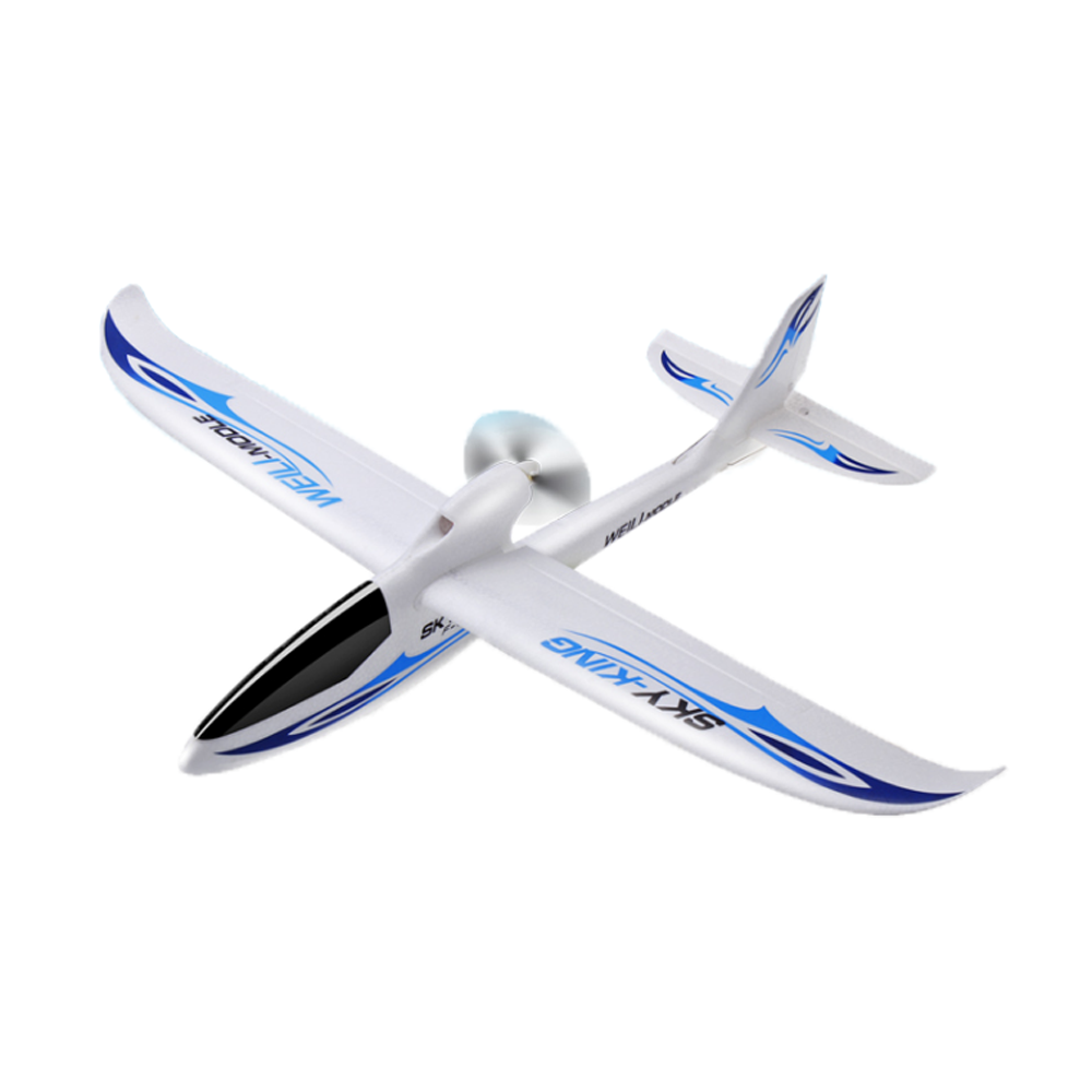 WLtoys F959S Sky King 2.4G 750mm Wingspan EPO RC Glider Airplane RTF Mode 2 with 6-Axis Gyro - Photo: 6