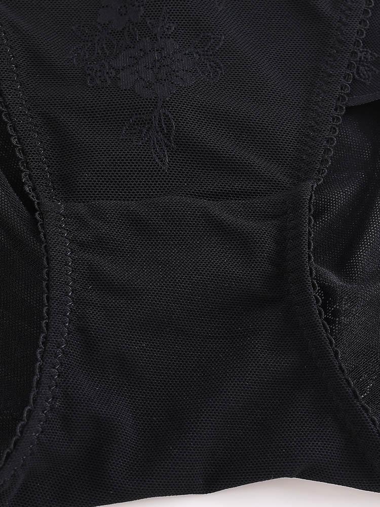 Plus Size See Through Shaping Panties