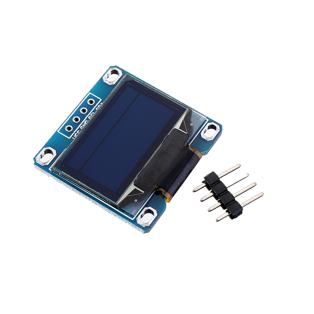 0.96 Inch OLED I2c IIC LCD Screen Module + F-F Dupont Line 12864 128x64 Display Module For Raspberry Pi 3 2 B+ Arduino