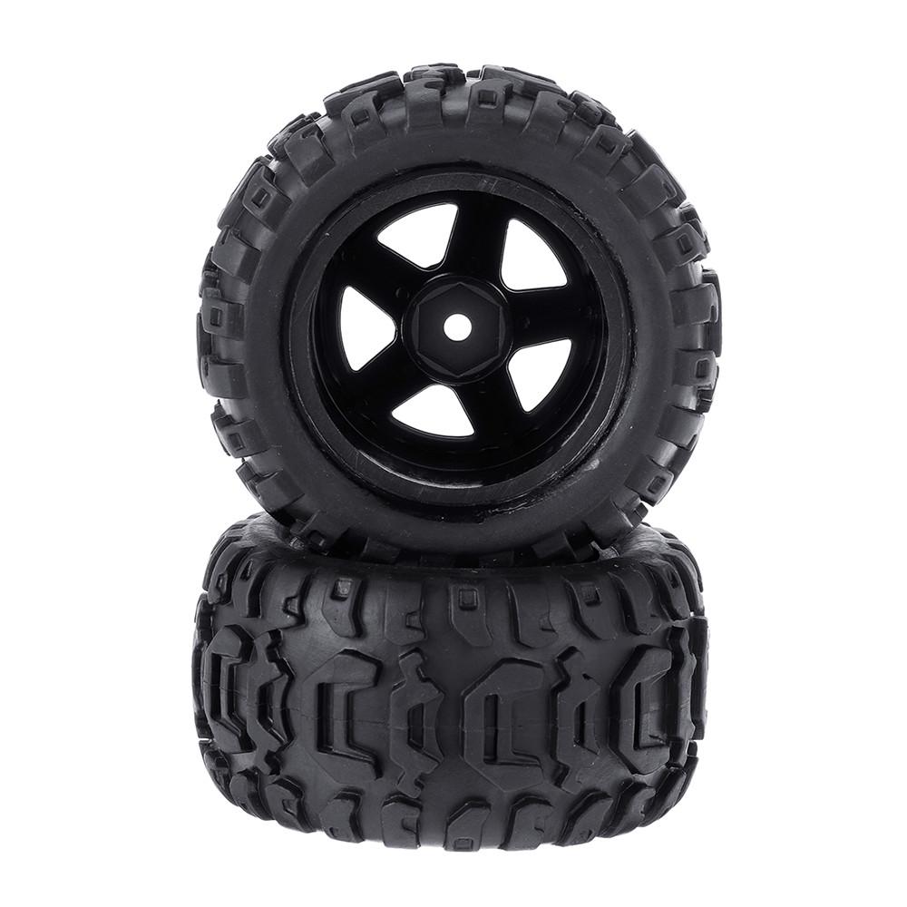 2PCS Tires & Wheels Rims for HBX 16889 1/16 RC Car Vehicles Spare Parts M16038 - Photo: 7