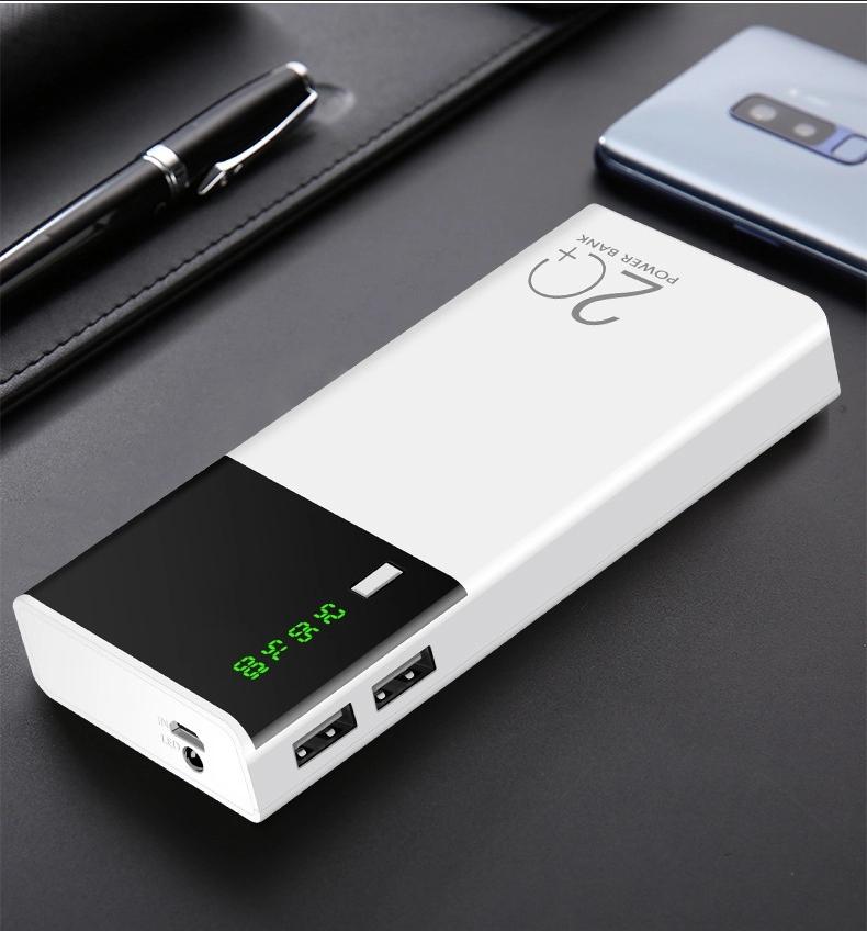 Bakeey 1300mAh LED Power Digital Display Large Capacity Mobile Power Bank Case For Ipad iPhone X XS HUAWEI P30 XIAOMI MI8 MI9